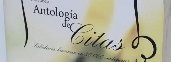 Post image for Libros: Prólogo de «Antología de Citas»