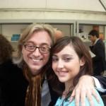 Con Irina. Diciembre 2010