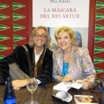 Victor Amela y Pilar Rahola