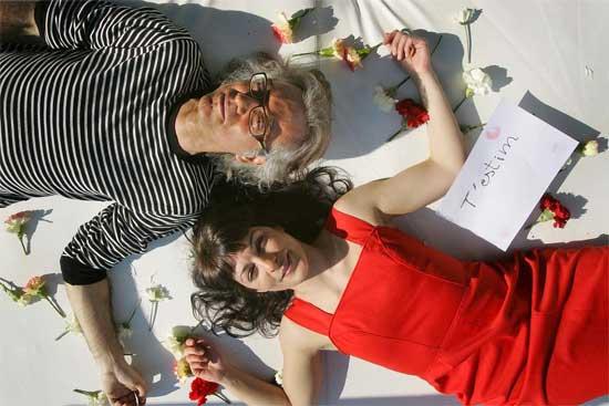 Víctor Amela i Roser Amills producció de fotos Jordi Play per Paraules d'Amor