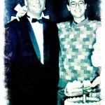 Víctor Amela con su amigo Alfonso Arús... hace muuuuchos años!