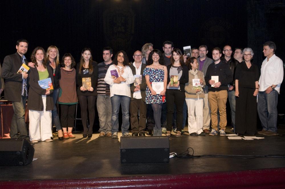 roser amills i victor amela premi-la-llança-2011-omnium-cultural