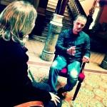 victor amela i toni alba a Xerrades inesperades de Canal català