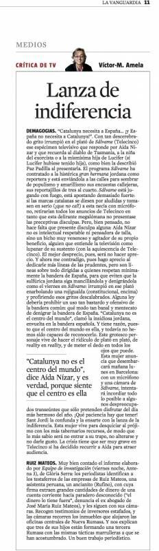 critica de tv 22 abril 2012