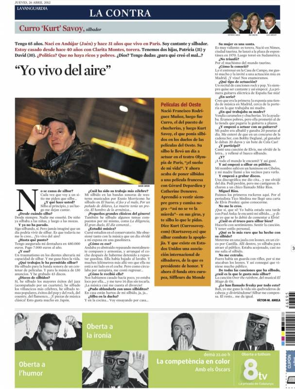 kurt savoy 26 de abril 2012