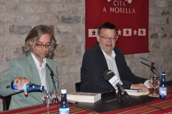 victor amela y ximo puig a Morella