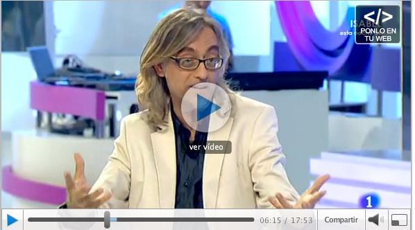 victor amela debate gente La 1 RTVE 17 septiembre 2012