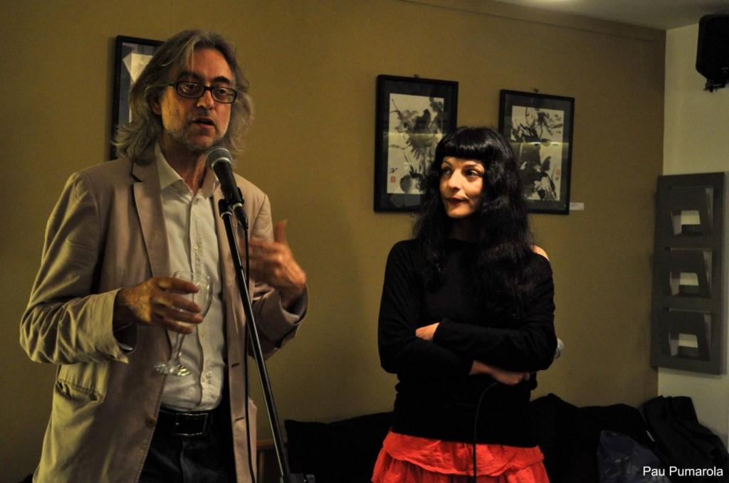Roser Amills i Victor Amela a Girona04