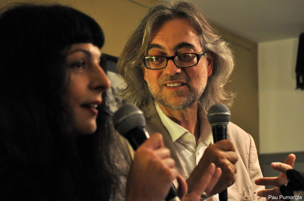 Roser Amills i Victor Amela a Girona15