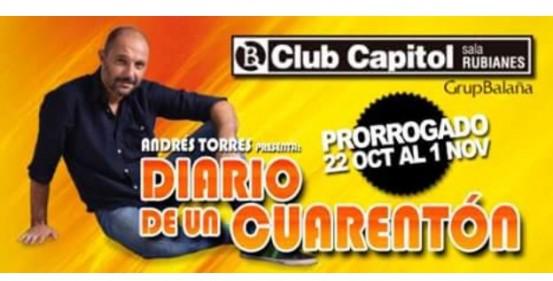 Mi amigo Andrés Torres vuelve al Capitol el jueves